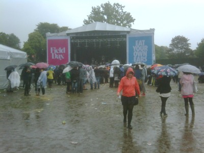 Field Day 2009: This is the end. torrential rain.