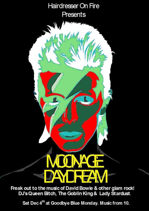 Moonage Dream - Saturday 4 December 2010 at Goodbye Blue Monday.