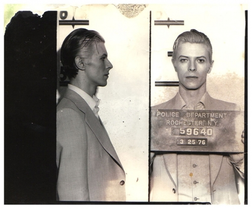 Alleged dangerous pothead David Bowie